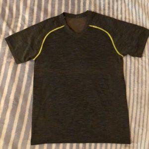 Brown Dri Fit LuLuLemon Men's T Shirt